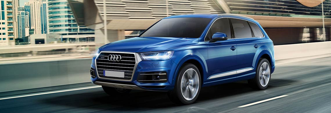 Rent Audi Q7 7seater In Europe